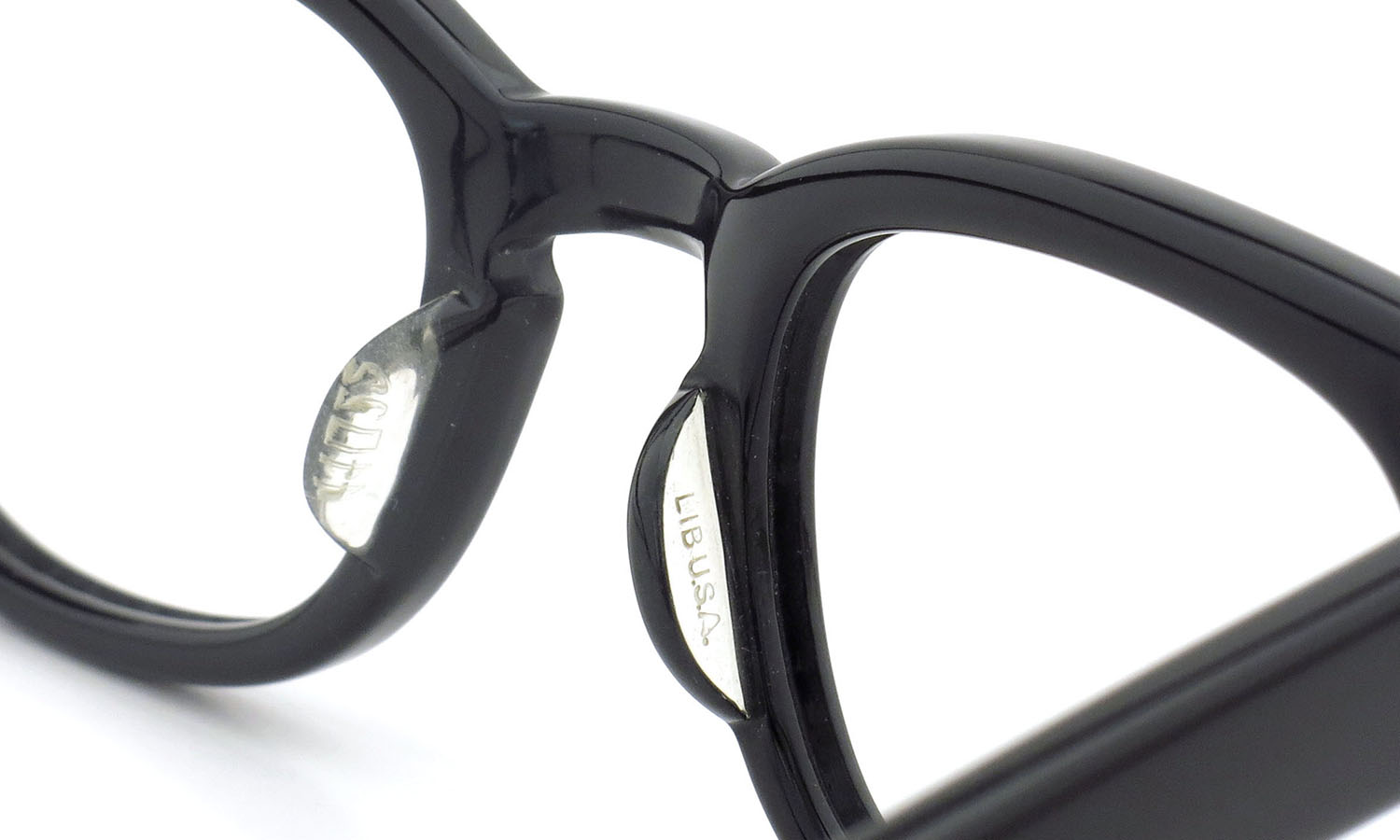 LIBERTY Optical 1950's vintage メガネ 9-PAR BLACK 44-20 8