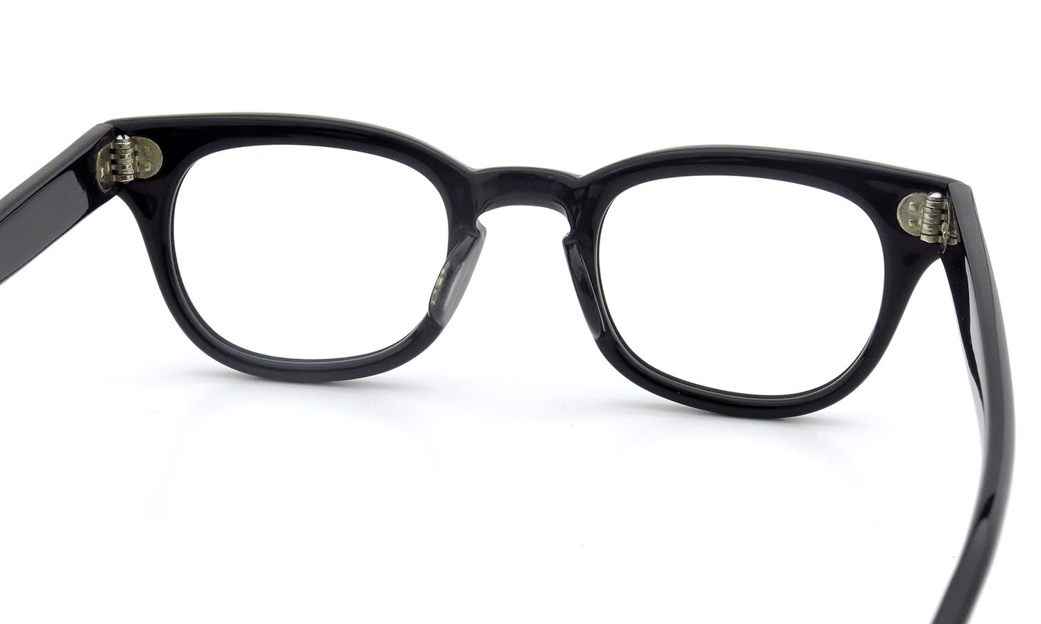 LIBERTY Optical 1950's vintage メガネ 9-PAR BLACK 44-20 7