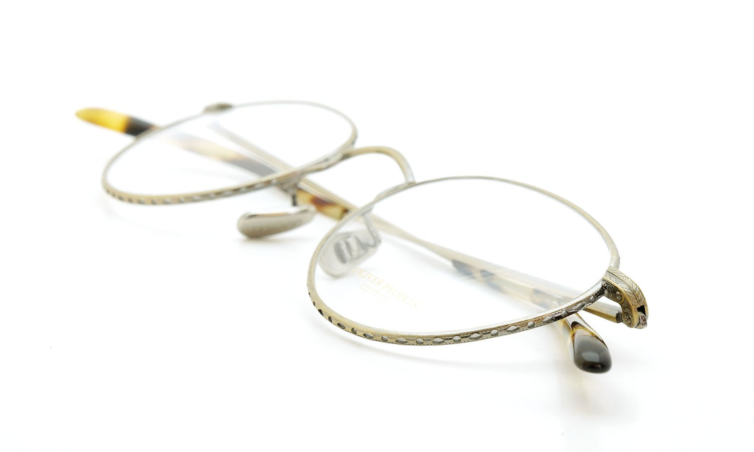 OLIVER PEOPLES (オリバーピープルズ) 2014年-2015秋冬 最新作メガネ OP-47T AG 14