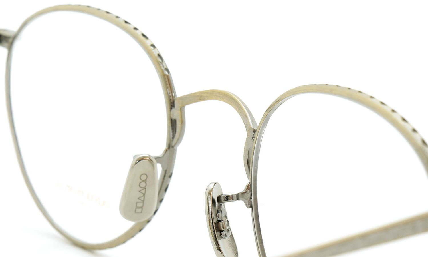 OLIVER PEOPLES (オリバーピープルズ) 2014年-2015秋冬 最新作メガネ OP-47T AG 10