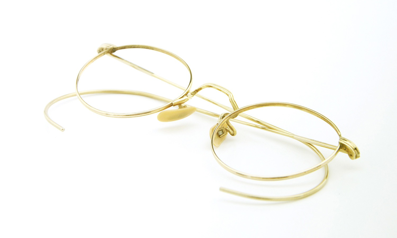 American Optical アメリカン オプティカル vintage ヴィンテージ メガネ 1930年代 P3 FUL-VUE MARSHWOOD 1/10 12kGF GOLD 10