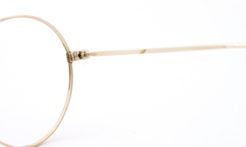 American vintage アメリカン ヴィンテージ メガネ 1930年代 PANTO 12kGF DECO MASHWOOD CENTER-POINT 45-20 10