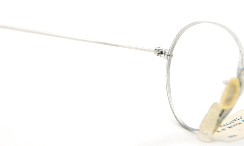 American vintage アメリカン ヴィンテージ メガネ 1930年代 REZISTIV PANTO 1/10 12kGF MASHWOOD CENTER-POINT col.White-Gold 42-21 9