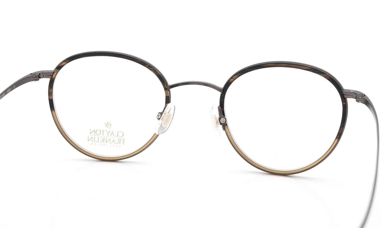 CLAYTON FRANKLIN (クレイトンフランクリン) 2015年春夏 新色 メガネ 606 MBR/MHB 7
