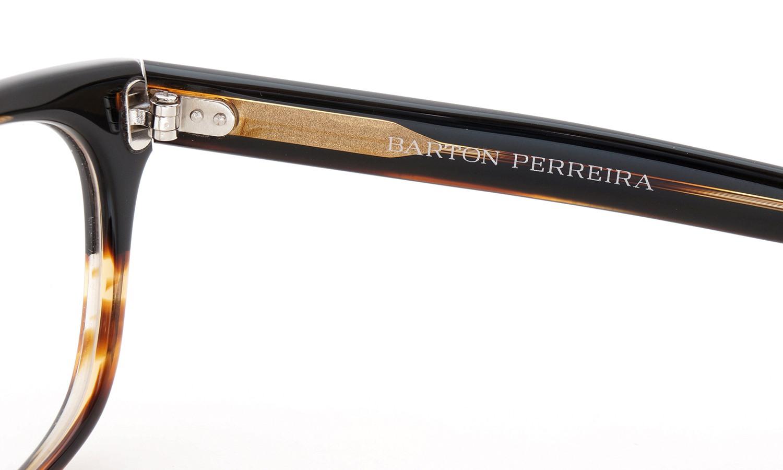 BARTON PERREIRA (バートンペレイラ) ボストンスタイル メガネ LORYN ローリン RTG 47size 10