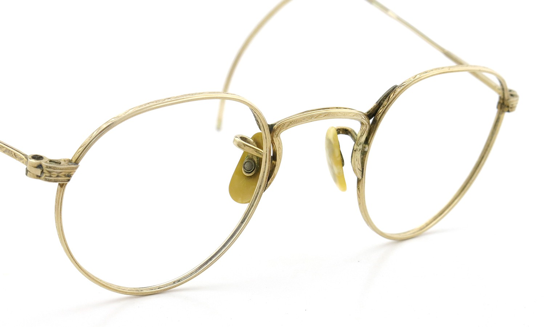 American Optical アメリカン オプティカル vintage ヴィンテージ メガネ 1930年代 PANTO FUL-VUE MARSHWOOD 1/10 12kGF 39-22 6