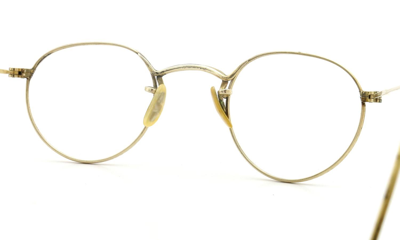 American Optical アメリカン オプティカル vintage ヴィンテージ メガネ 1930年代 PANTO FUL-VUE MARSHWOOD 1/10 12kGF 39-22 7