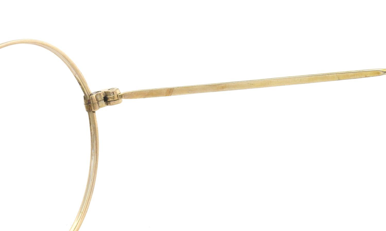 American vintage アメリカン ヴィンテージ メガネ 1930年代 ROUND DECO MASHWOOD CENTER-POINT 45-20 10