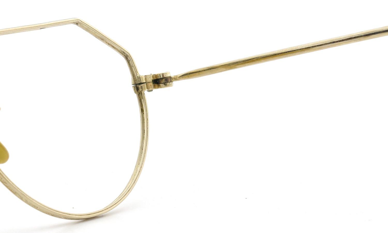 希少 American vintage アメリカン ヴィンテージ メガネ 1930年代 CROWN-PANTO 1/10 12KGF 41-21 10