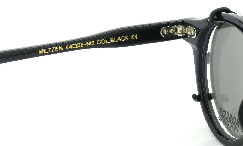 MOSCOT MILTZEN BLACK 44 + clip MBK