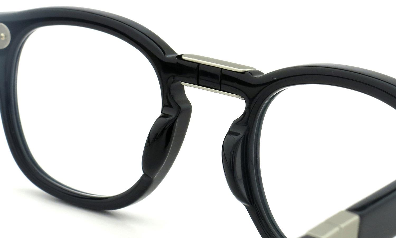 MOSCOT 100周年記念モデル メガネ LEMTOSH-FOLD COL.BLACK-SE 46size