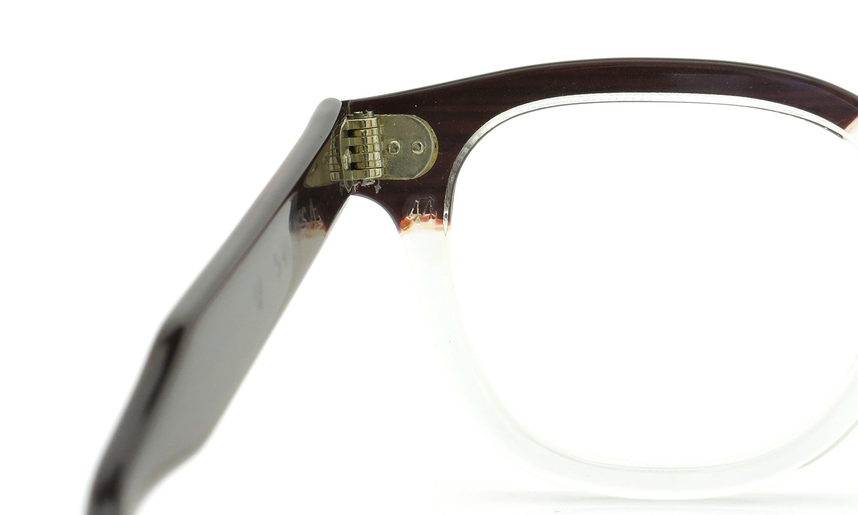 TART Optical タートオプティカル ヴィンテージ メガネ ARNEL アーネル REDWOOD C.B.-CLEAR 44-20