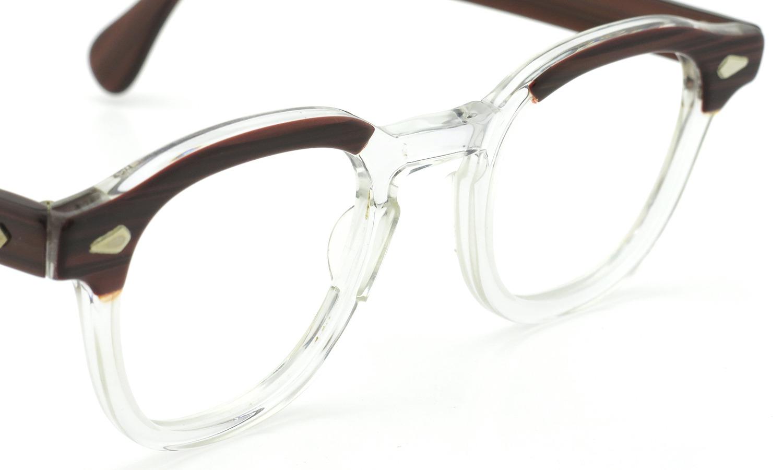 TART Optical タートオプティカル ヴィンテージ メガネ ARNEL アーネル REDWOOD C.B.-CLEAR 46-24
