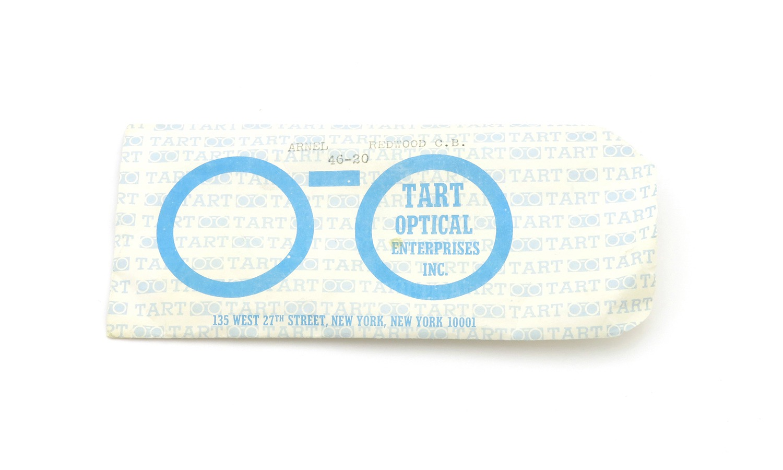 TART Optical タートオプティカル ヴィンテージ メガネ ARNEL アーネル REDWOOD C.B.-CLEAR 44-22