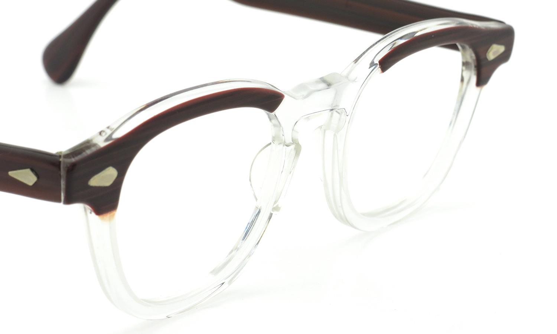 TART Optical タートオプティカル ヴィンテージ メガネ ARNEL アーネル REDWOOD C.B.-CLEAR 46-20