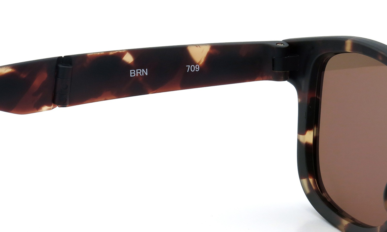 H-fusion folding 2015new sun HF-709 BRN 茶デミ