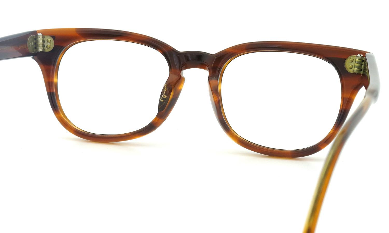 LIBERTY Optical vintage メガネ 9P DEMI-AMBER フックテンプル 46-18 7