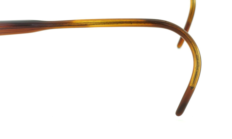 LIBERTY Optical vintage メガネ 9P DEMI-AMBER フックテンプル 46-18 12