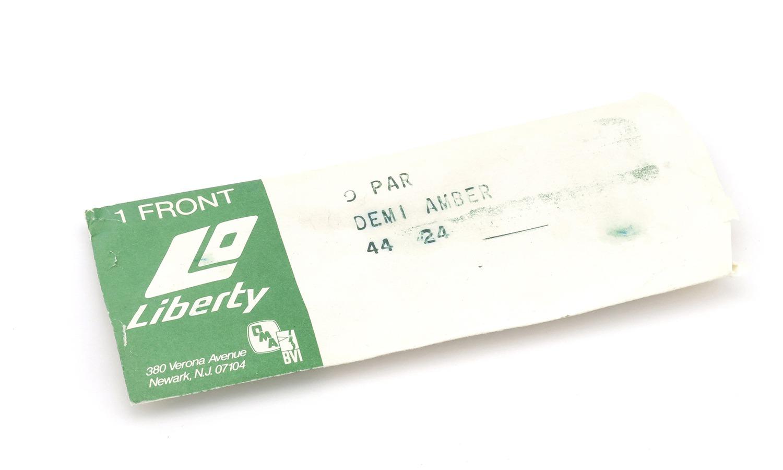 LIBERTY Optical vintage 9-PAR DEMI-AMBER 44-24 5?1/4