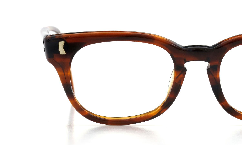 LIBERTY Optical vintage メガネ 9P DEMI-AMBER フックテンプル 46-18 16