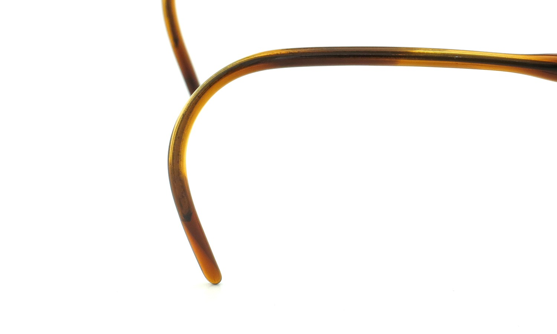 LIBERTY Optical vintage メガネ 9P DEMI-AMBER フックテンプル 46-18 13