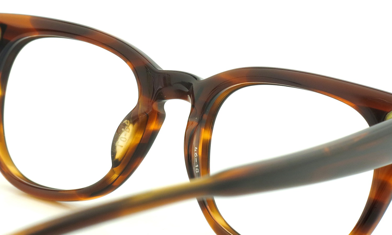 LIBERTY Optical vintage メガネ 9P DEMI-AMBER フックテンプル 46-18 8