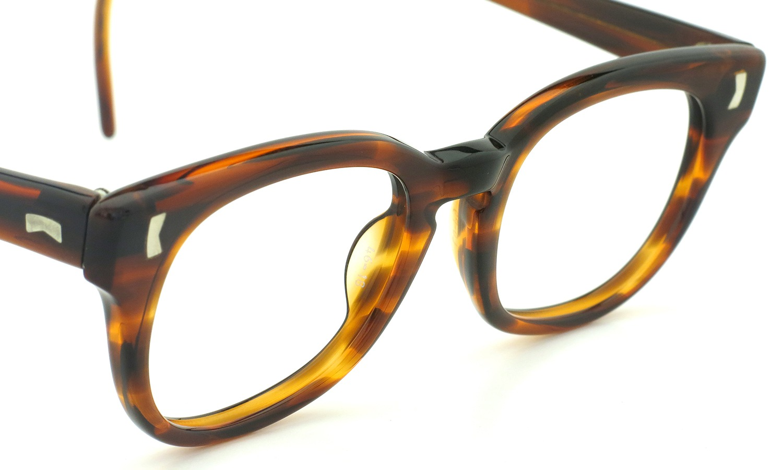 LIBERTY Optical vintage メガネ 9P DEMI-AMBER フックテンプル 46-18 6