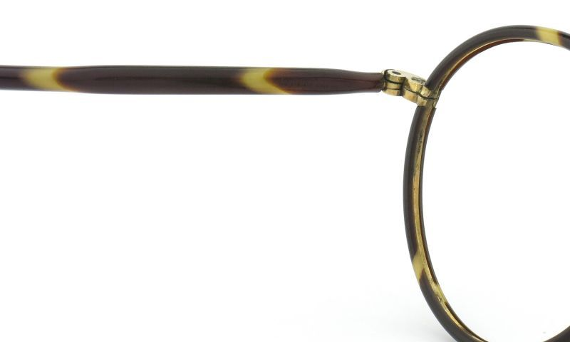 1930 ENGLAND Vintage PANTO セル巻 縄手 Tortoise/Gold