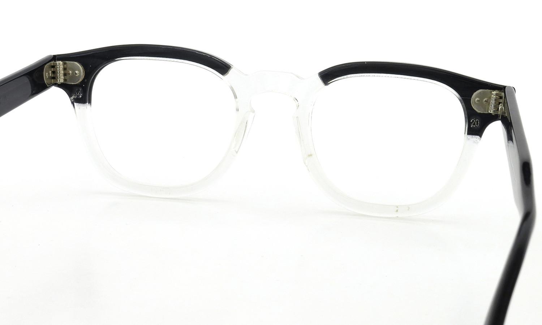 TART Optical vintage タートオプティカル ヴィンテージ メガネ ARNEL アーネル BLACKWOOD CB-CLEAR 44-20 7