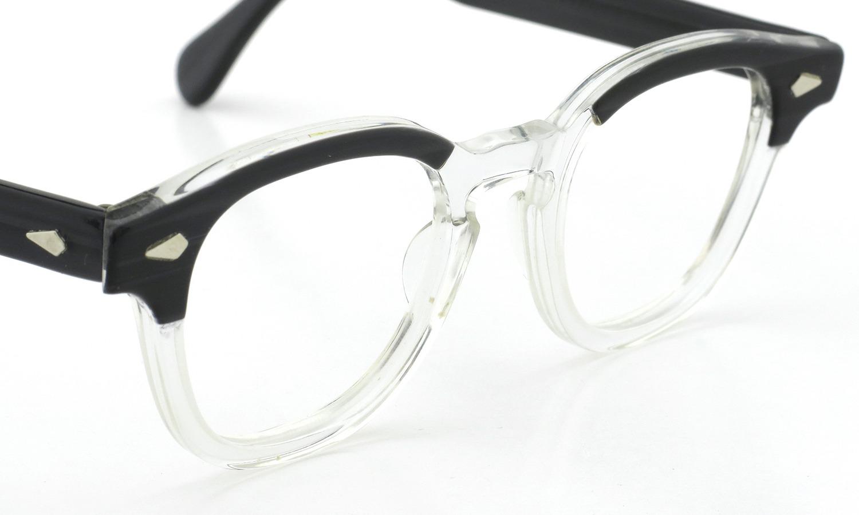 TART Optical vintage タートオプティカル ヴィンテージ メガネ ARNEL アーネル BLACKWOOD CB-CLEAR 44-20 6