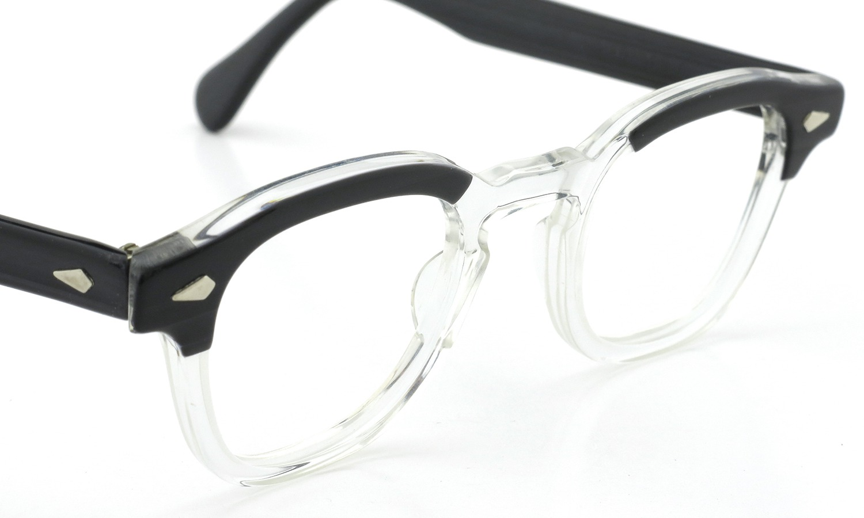 TART Optical vintage タートオプティカル ヴィンテージ メガネ ARNEL アーネル BLACKWOOD CB-CLEAR 44-24 6