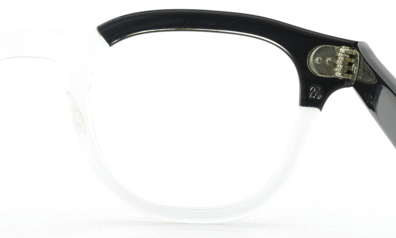 TART Optical vintage タートオプティカル ヴィンテージ メガネ ARNEL アーネル BLACKWOOD CB-CLEAR 44-24 11