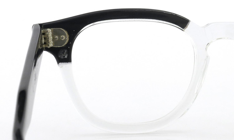 TART Optical vintage タートオプティカル ヴィンテージ メガネ ARNEL アーネル BLACKWOOD CB-CLEAR 44-20 8