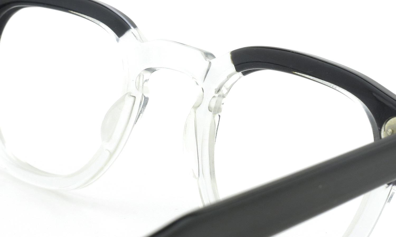 TART Optical vintage タートオプティカル ヴィンテージ メガネ ARNEL アーネル BLACKWOOD CB-CLEAR 44-24 8
