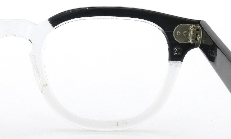 TART Optical vintage タートオプティカル ヴィンテージ メガネ ARNEL アーネル BLACKWOOD CB-CLEAR 44-20 9