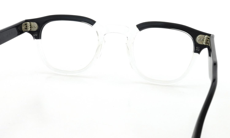 TART Optical vintage タートオプティカル ヴィンテージ メガネ ARNEL アーネル BLACKWOOD CB-CLEAR 44-24 7