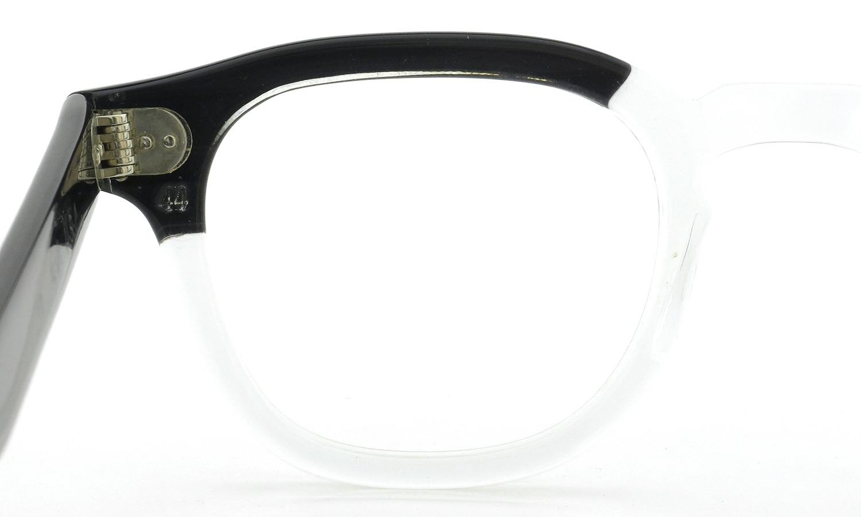 TART Optical vintage タートオプティカル ヴィンテージ メガネ ARNEL アーネル BLACKWOOD CB-CLEAR 44-24 10