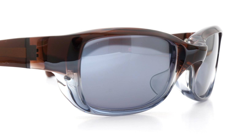 FACTORY900 ×PonMegane 10周年記念オリジナル サングラス F-002 Col.Brown-Clear-Grey Lense.Silver-Matte-Mirror 14