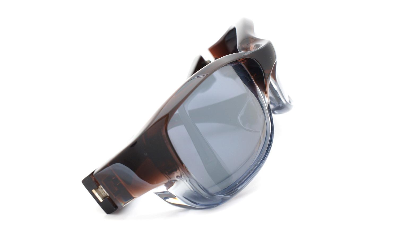 FACTORY900 ×PonMegane 10周年記念オリジナル サングラス F-002 Col.Brown-Clear-Grey Lense.Silver-Matte-Mirror 12