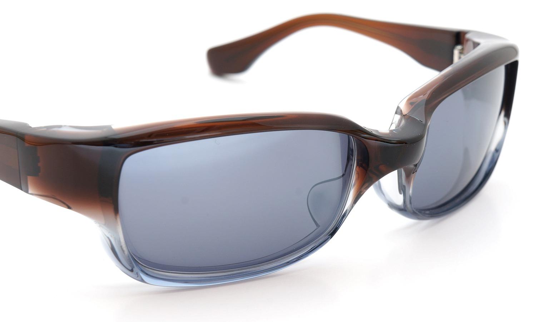 FACTORY900 ×PonMegane 10周年記念オリジナル サングラス F-002 Col.Brown-Clear-Grey Lense.Silver-Matte-Mirror 6