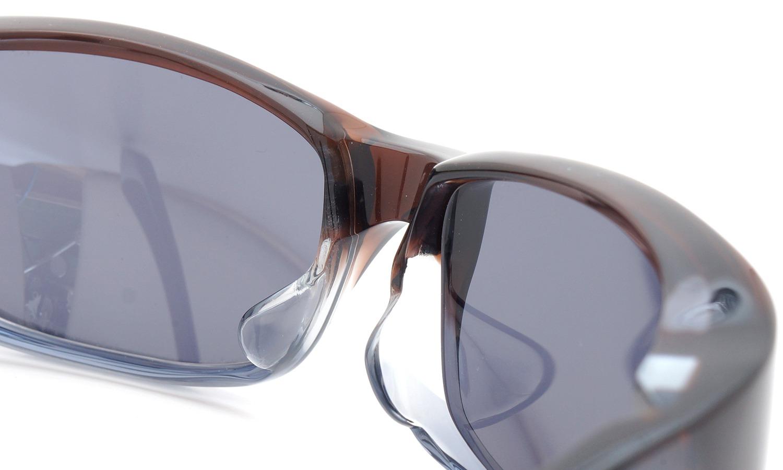 FACTORY900 ×PonMegane 10周年記念オリジナル サングラス F-002 Col.Brown-Clear-Grey Lense.Silver-Matte-Mirror 8
