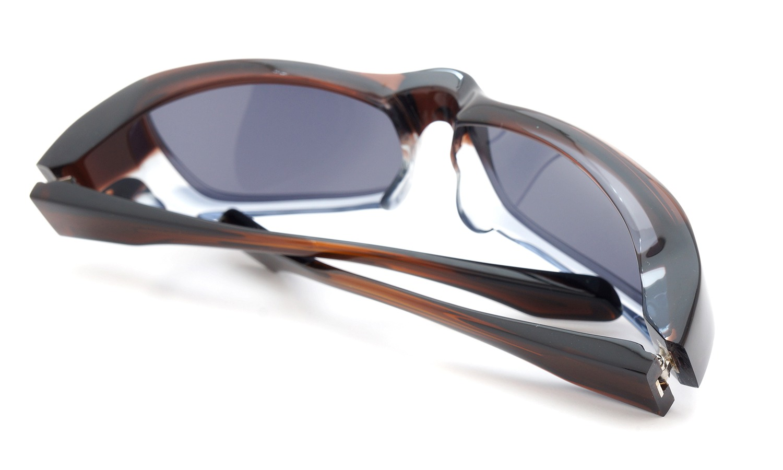 FACTORY900 ×PonMegane 10周年記念オリジナル サングラス F-002 Col.Brown-Clear-Grey Lense.Silver-Matte-Mirror 13