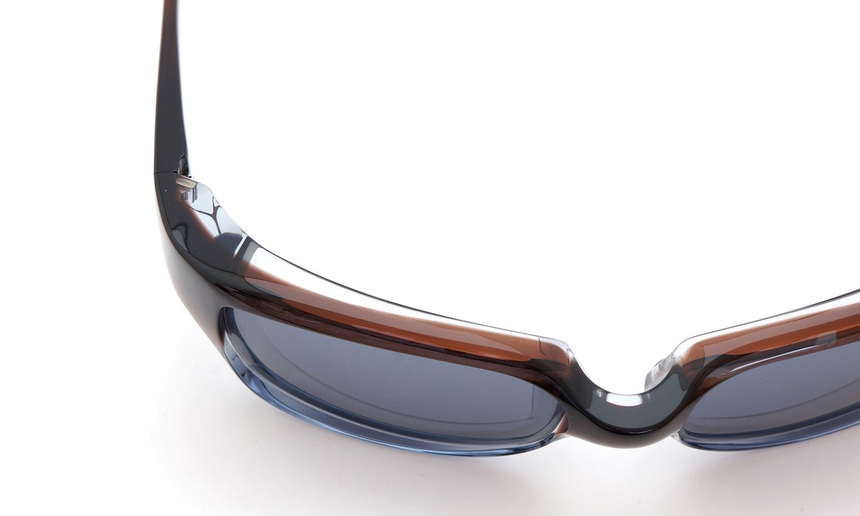 FACTORY900 ×PonMegane 10周年記念オリジナル サングラス F-002 Col.Brown-Clear-Grey Lense.Silver-Matte-Mirror 15