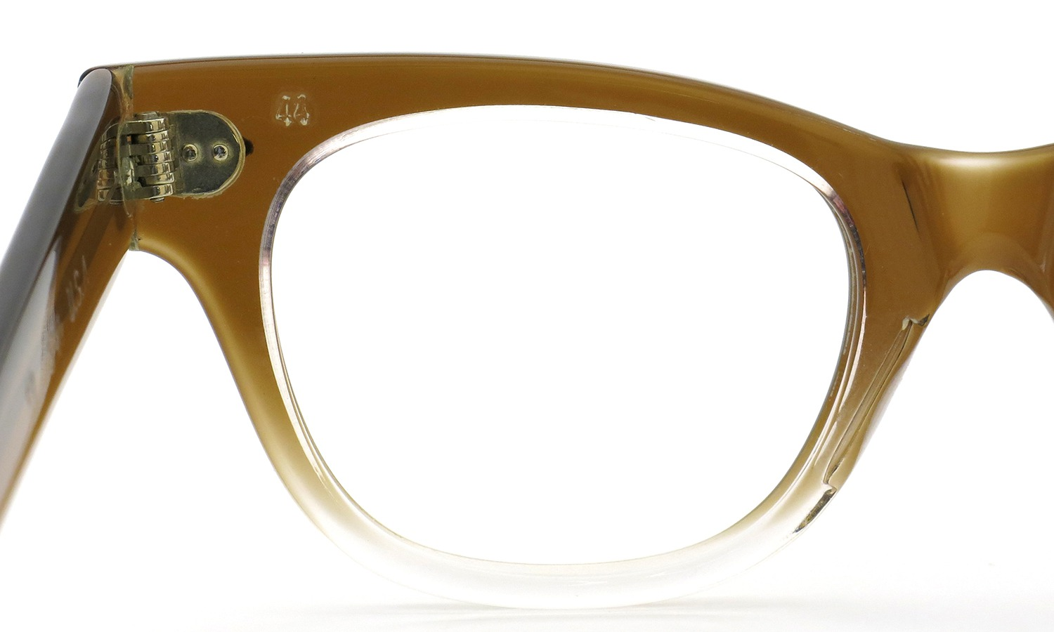 TART OPTICAL vintage 1950s COUNTDOWN BROWN FADE 44-20 (v1)