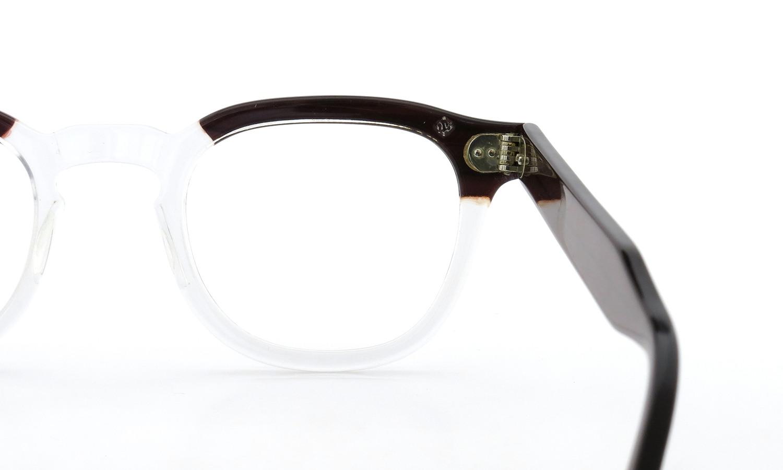 TART Optical タートオプティカル ヴィンテージ メガネ ARNEL アーネル REDWOOD C.B.-CLEAR 46-24 03