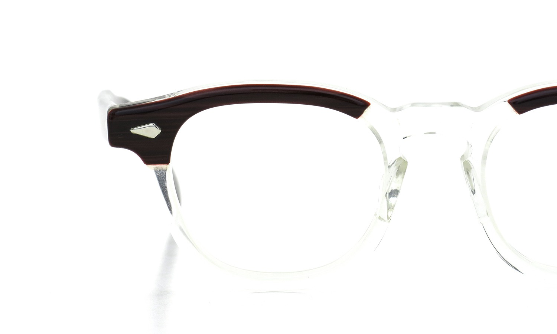 TART Optical タートオプティカル ヴィンテージ メガネ ARNEL アーネル REDWOOD C.B.-CLEAR 46-20 02