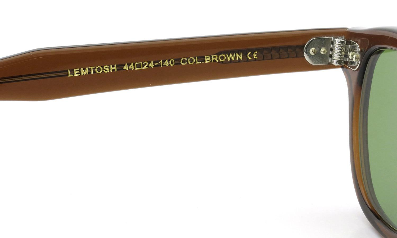 MOSCOT サングラスカスタム LEMTOSH レムトッシュ Col.BROWN 44size