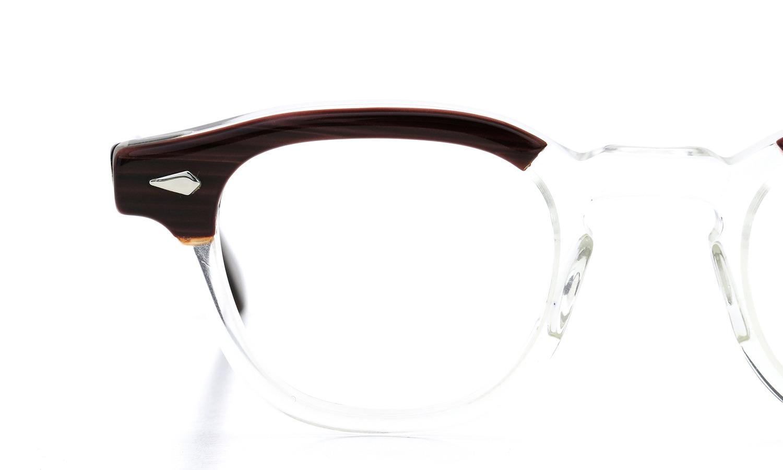 vintage TART Optical ARNEL REDWOOD C.B.-CLEAR 44-22 05