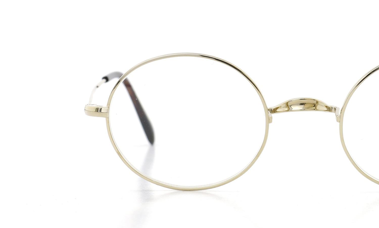 オリバーゴールドスミス メガネ Oliver Oval/Pro オーバル Titanium Gold