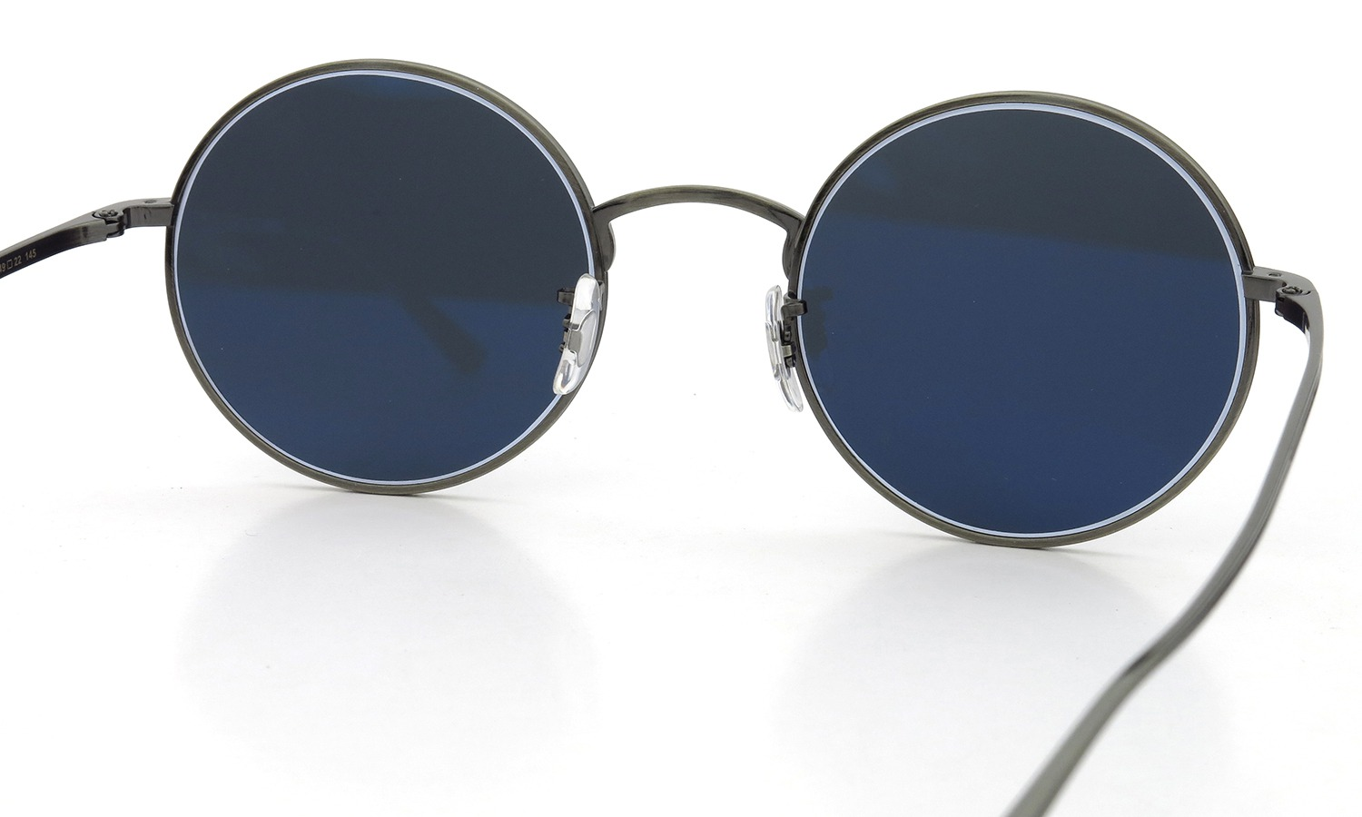 OLIVER PEOPLES × THE ROW サングラス AFTER MIDNIGHT col.P フラットダークブルーガラスレンズ 49size
